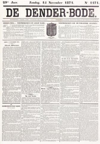 De Denderbode 1874-11-15