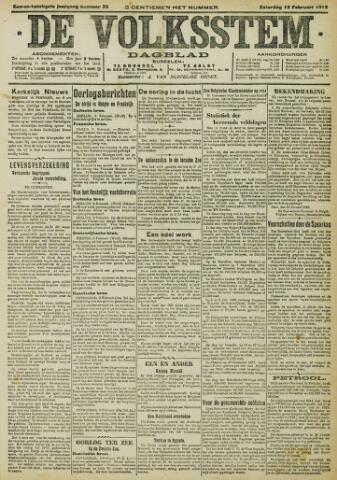 De Volksstem 1915-02-13