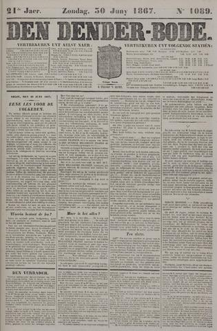 De Denderbode 1867-06-30