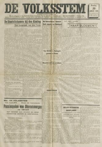 De Volksstem 1938-01-30