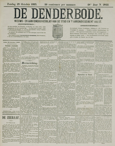 De Denderbode 1893-10-29