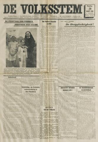 De Volksstem 1938-03-20