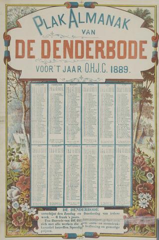 De Denderbode 1889