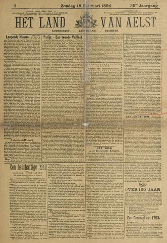 Het Land van Aelst 1894