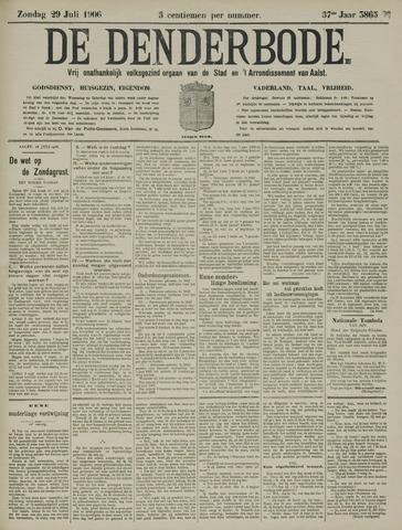 De Denderbode 1906-07-29