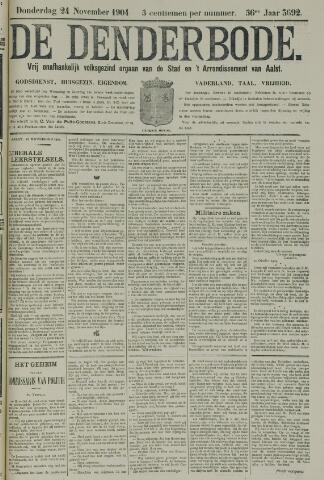De Denderbode 1904-11-24