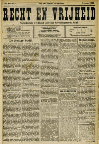 Recht en Vrijheid 1923