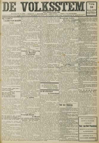 De Volksstem 1930-10-31