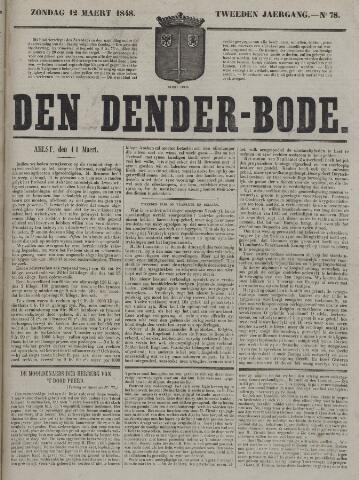 De Denderbode 1848-03-12