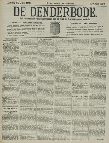 De Denderbode 1907-06-23