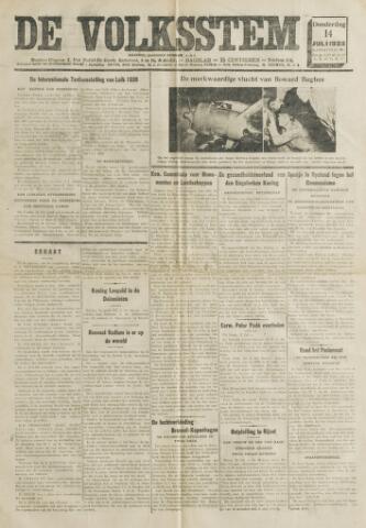 De Volksstem 1938-07-14
