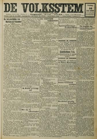 De Volksstem 1926-07-16