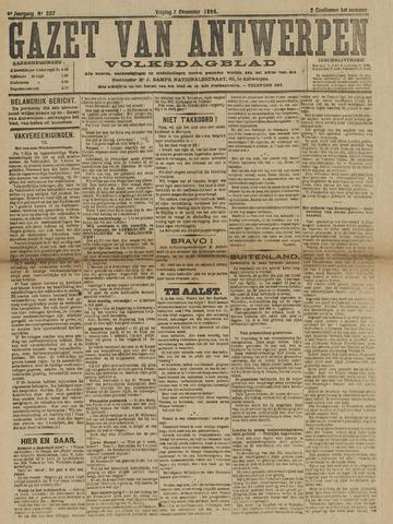 Gazet van Antwerpen 1894