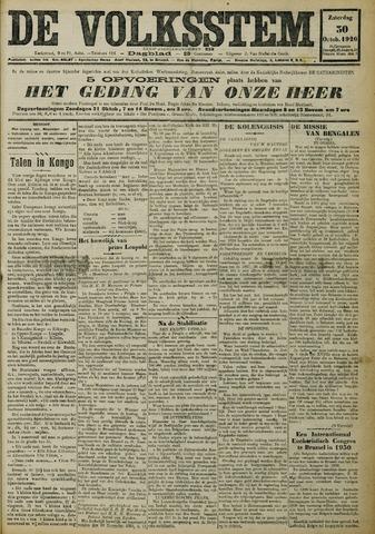 De Volksstem 1926-10-30