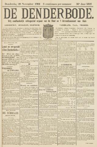 De Denderbode 1901-11-28