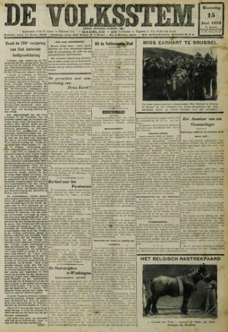 De Volksstem 1932-06-15