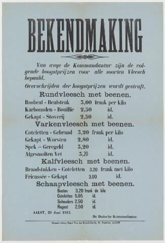 Tekstaffiches 1913
