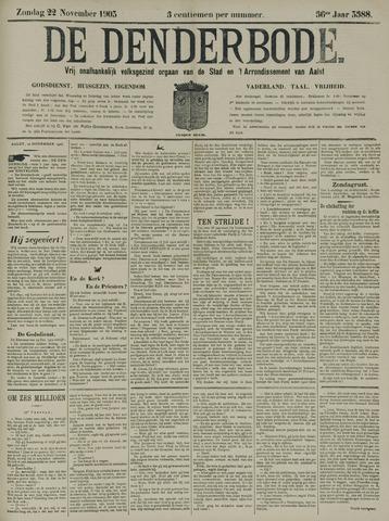 De Denderbode 1903-11-22