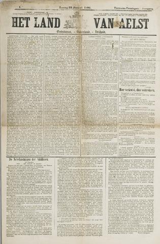 Het Land van Aelst 1881-01-23