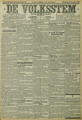 De Volksstem 1915-02-10