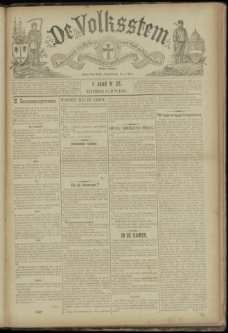 De Volksstem 1895-06-15