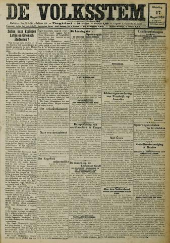 De Volksstem 1926-08-17