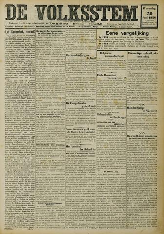 De Volksstem 1926-06-30