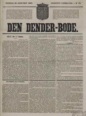 De Denderbode 1847-01-24