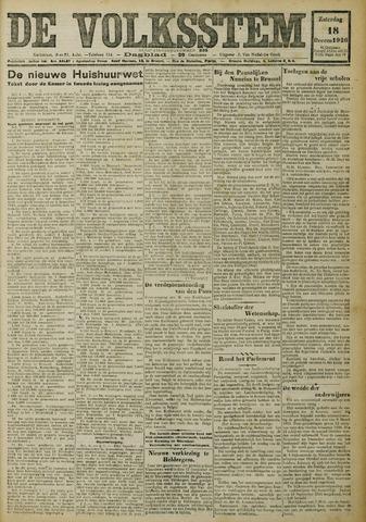 De Volksstem 1926-12-18