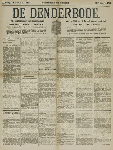 De Denderbode 1912-01-28