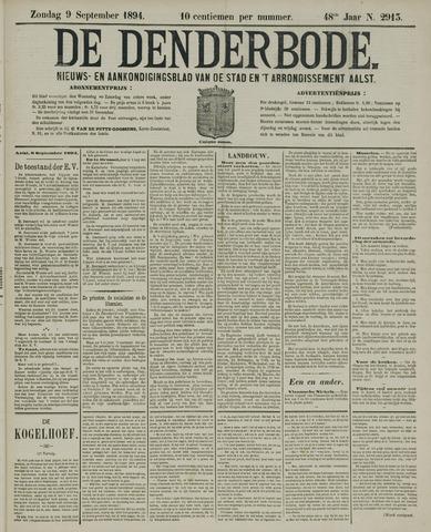 De Denderbode 1894-09-09