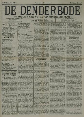 De Denderbode 1916-05-21