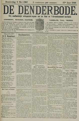 De Denderbode 1907-05-09