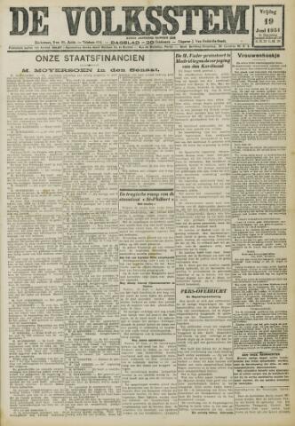 De Volksstem 1931-06-19