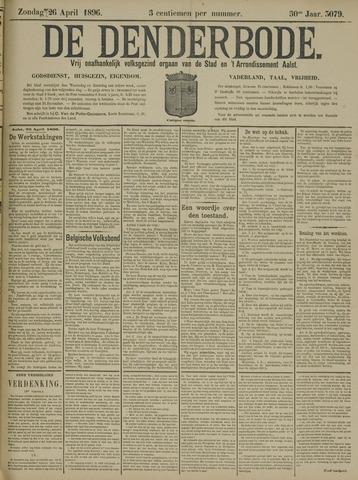 De Denderbode 1896-04-26