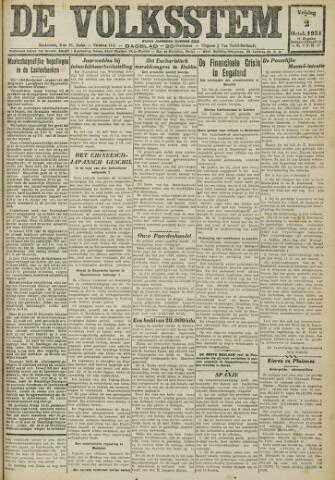 De Volksstem 1931-10-02