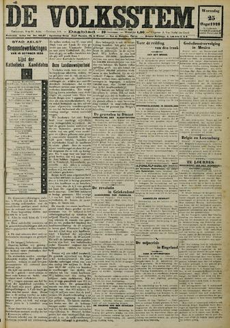 De Volksstem 1926-08-25