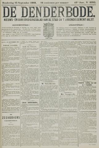De Denderbode 1888-09-13