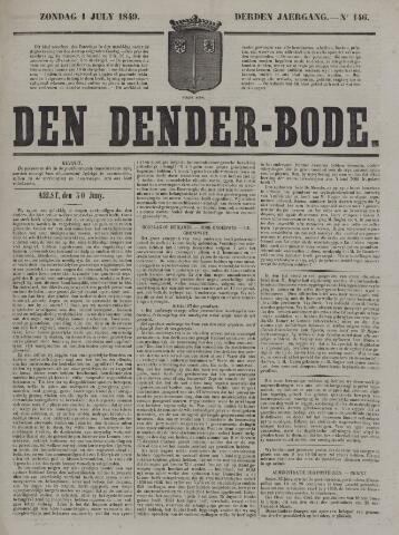 De Denderbode 1849-07-01