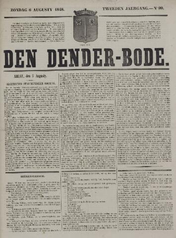 De Denderbode 1848-08-06