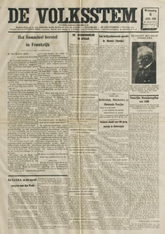 De Volksstem 1938-04-06