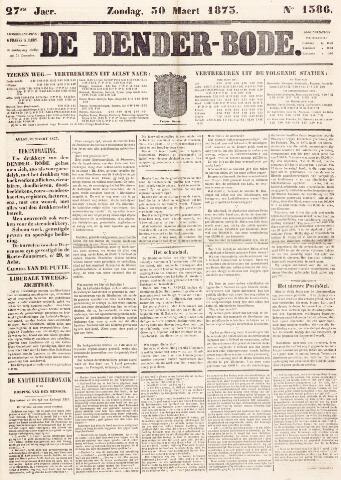 De Denderbode 1873-03-30