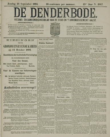 De Denderbode 1894-09-23