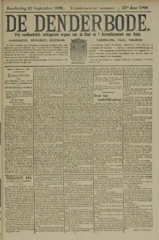 De Denderbode 1898-09-22