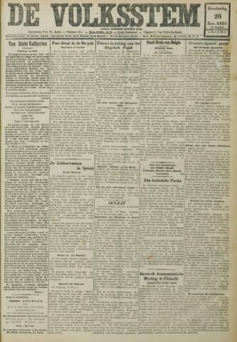 De Volksstem 1931-11-26