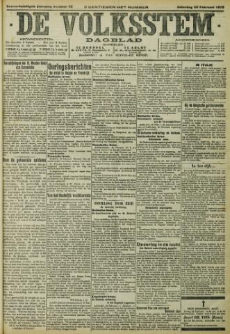 De Volksstem 1915-02-20