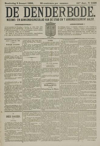 De Denderbode 1890-01-09