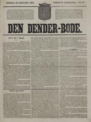 De Denderbode 1847-01-10