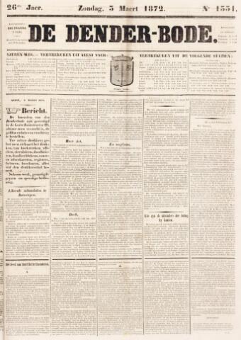 De Denderbode 1872-03-03