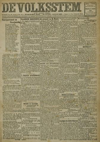 De Volksstem 1922